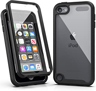 iPod Touch 7 Case,iPod Touch 6 Case,SLMY Armor Shockproof Case with Build in Screen..