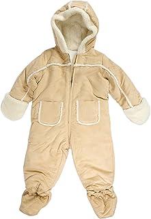 1673fc653 First Impressions Baby Boys Faux Suede Snowsuit with Faux Fur Trim (18  Months)