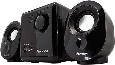 Vorago Spk-200 Bocina 2.1, Alámbrico, 7 W, Color Negro