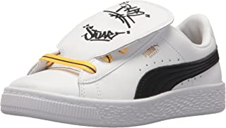 PUMA Minions Basket Tongue Kids Sneaker