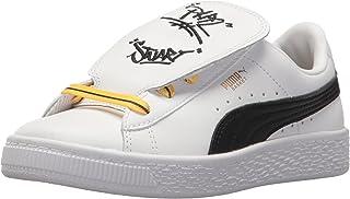 PUMA Kids' Minions Basket Tongue Sneaker