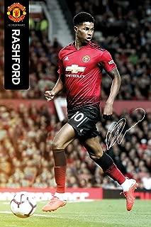 Manchester United - Marcus Rashford 2018-19 Poster (24 x 36 inches)