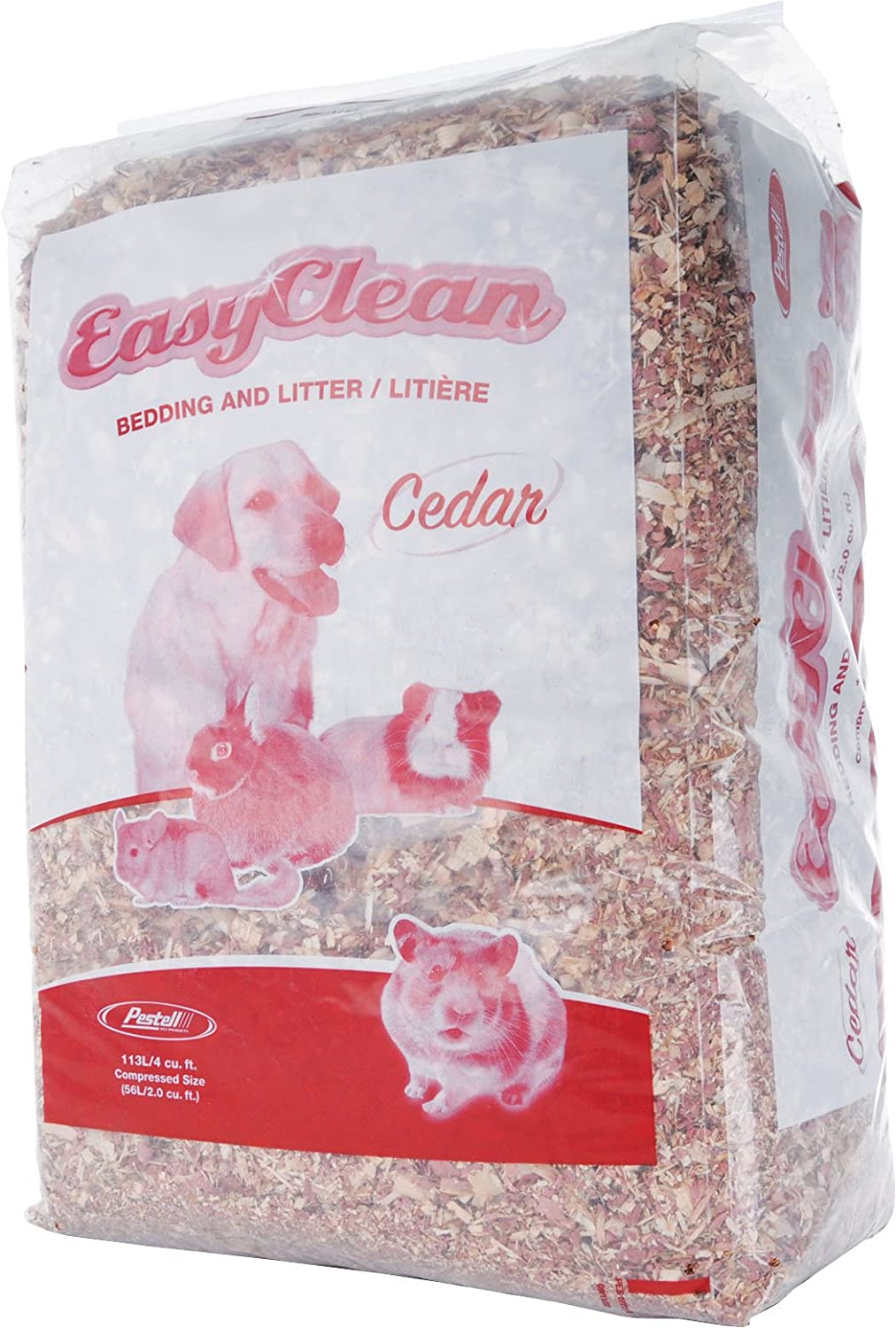 Pestell Pet Products Easy Clean Excellent Bedding Direct sale of manufacturer Liters 113 Cedar