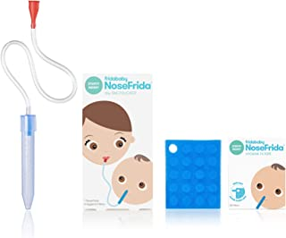 Baby Nasal Aspirator NoseFrida the Snotsucker with 20 Extra Hygiene Filters by Frida Baby