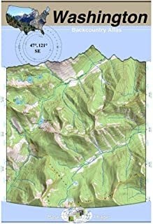 47°121° SE - Snoqualmie Pass, Washington Backcountry Atlas (Topo) (Washington Backcountry Atlas A4 25000 Scale)