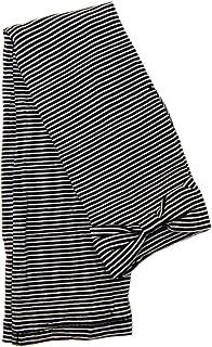 UV手袋 レディース ロング (ボーダー柄甲リボンBK(33))
