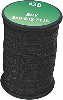 BCY 3D End Serving .016 120yd Black