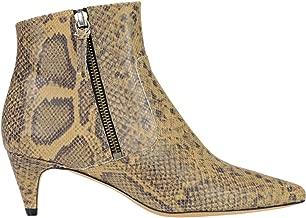 Luxury Fashion   Isabel Marant Mujer Mcglcas000006033i Beige Cuero Botines   Season Outlet