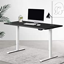 Artiss Roskos I Electric Motorised Height Adjustable Standing Desk Computer Office 140cm Sit Stand Table w/Control Panel