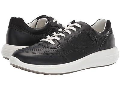 ECCO Soft 7 Runner Sneaker (Black) Women