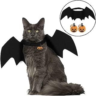 Legendog Halloween Pet Costume Bat Wings Cosplay Dog Costume Cat Costume for Party