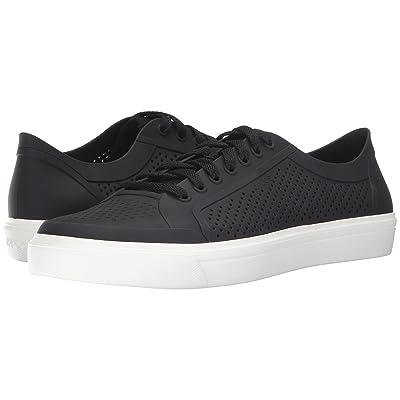 Crocs CitiLane Roka Court (Black/White) Lace up casual Shoes