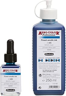 Color para aerógrafo - Airbrush profesional - 250 ml - Color Siena quemado