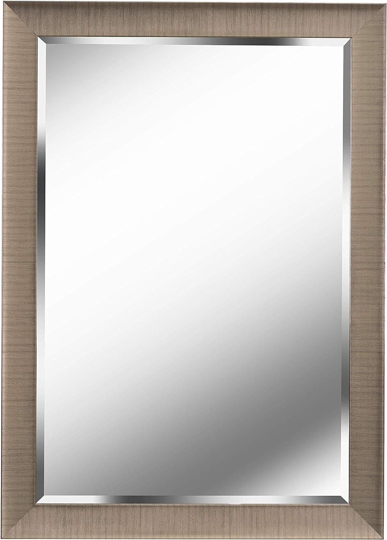 Kenroy Home Laredo Wall Mirror, 42  H x 30  W, Champagne