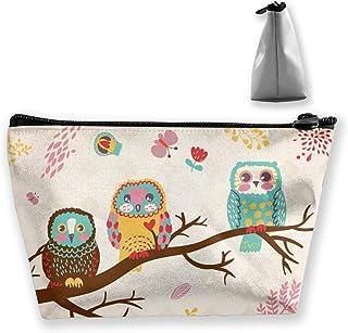 Gocerktr لطيف البوم حقيبة مستحضرات التجميل ماء ماكياج حقائب أدوات الزينة منظم للنساء