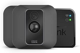 Blink XT2 | Cámara de seguridad inteligente exteriores e interiores almacenamiento en el Cloud audio bidireccional 2 años de autonomía | 2 cámaras