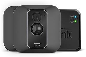 Blink XT2 | Caméra de sécurité connectée, Intérieur/extérieur, avec stockage dans le Cloud, système audio bidirectionnel, 2 ans d'autonomie de la batterie | Kit 2 caméras