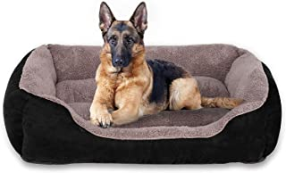 Utotol FRISTONE Dog Beds for Medium Dogs, Washable Pet Sofa Bed Firm Cotton Breathable Soft Couch for Small Puppies Cats S...