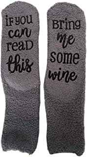 kingcxu, Calcetines gruesos con diseño de magdalenas, ideales para invierno, calcetines deportivos de invierno