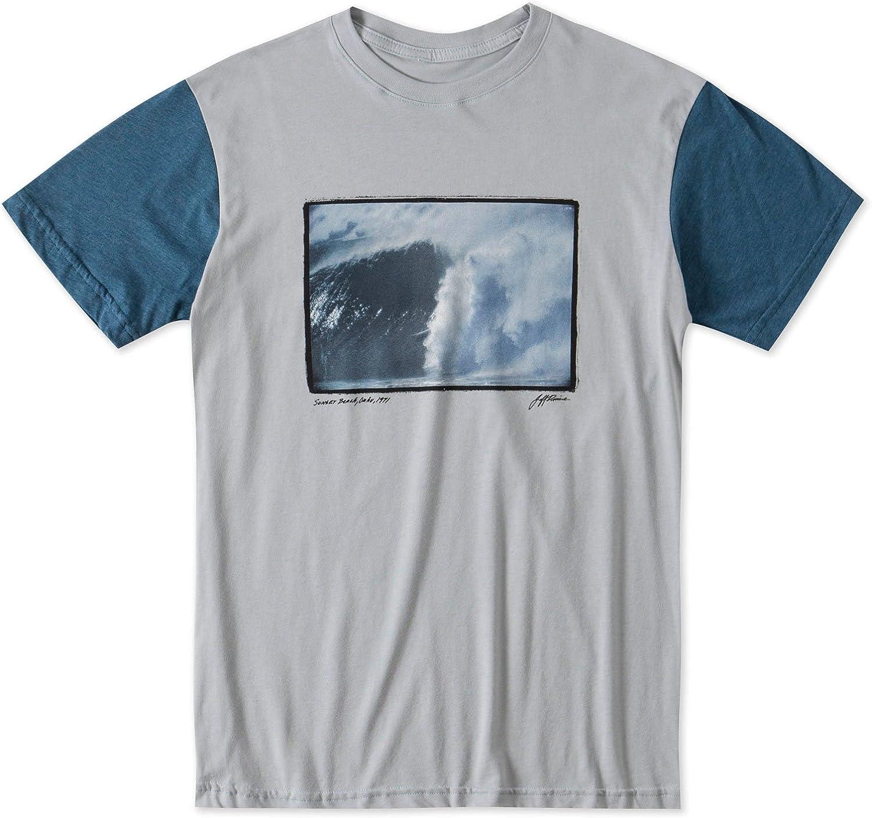 O'Neill Mens Charging ShortSleeve Shirt bluee Heather Medium