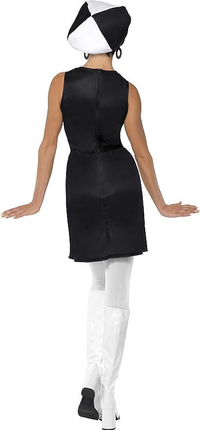 Années 60 TWISTER Jeu Nouveauté années 1980 fun femme costume robe fantaisie