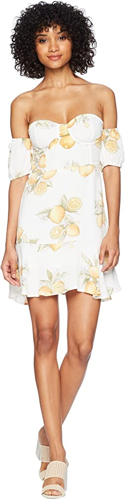 For Love and Lemons Lemonade Mini Dress