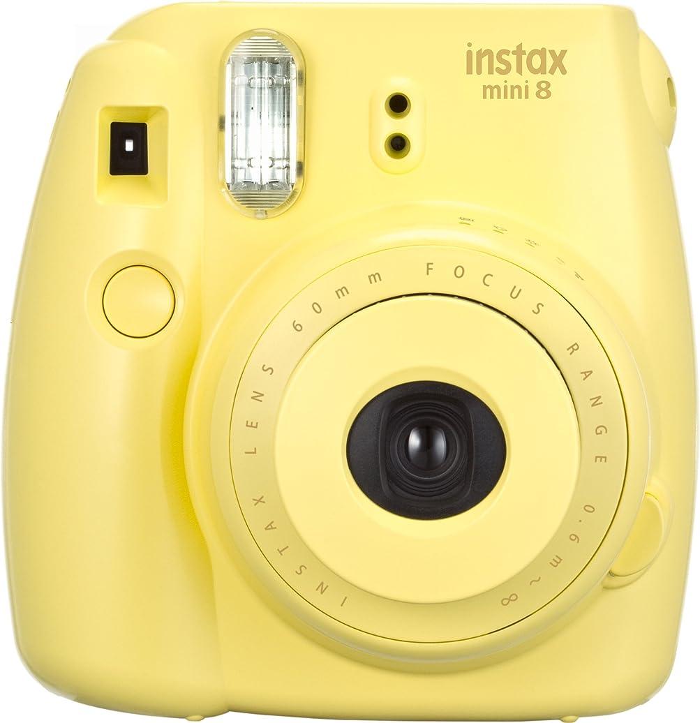 クロスリーズ石炭FUJIFILM インスタントカメラ チェキ instax mini 8 イエロー INS MINI 8 YELLOW N