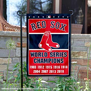 red sox world series flag