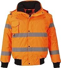 Portwest Workwear Mens Hi-VIS 3 in 1 Bomber Jacket