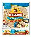 Mission, Flour Tortilla - Low Carb -Fajita Wheat, 8 Count, 8 Ounce