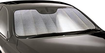 Intro-Tech TT-94-R Silver w/Out Sensor Ultimate Reflector Custom Fit Folding Windshield Sunshade for Select Toyota Camry Models, Without Lane Assist
