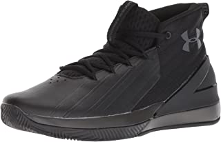 Men's Launch Basketball Shoe, Black (001)/Anthracite, 9
