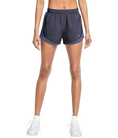 Nike Tempo Shorts Heather (Obsidian/Diffused Blue/Wolf Grey) Women