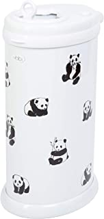 Ubbi Panda Peel and Stick Decal Stickers, Decorative Sticker for Diaper Pail or Baby Nursery