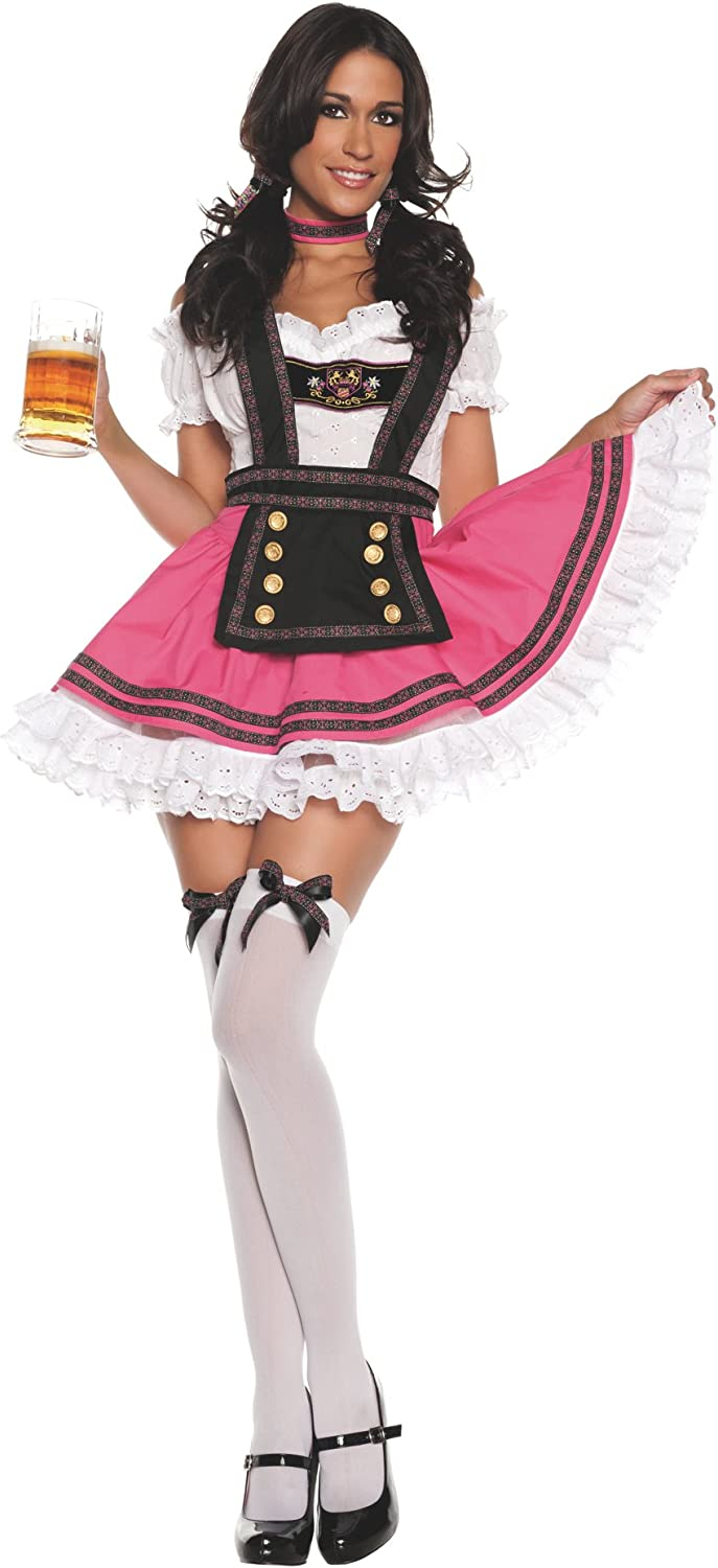 Fancy Beer Girl Sexy Adult Costume
