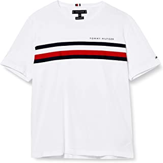Tommy Hilfiger Global Stripe tee Camisa para Hombre
