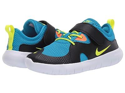 Nike Kids Flex Contact 3 (Little Kid) (Laser Blue/Lemon Venom/Black) Kids Shoes