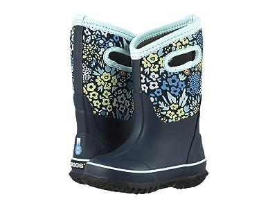 Bogs Kids Classic Big NW Garden (Toddler/Little Kid/Big Kid) (Blue Multi) Girls Shoes