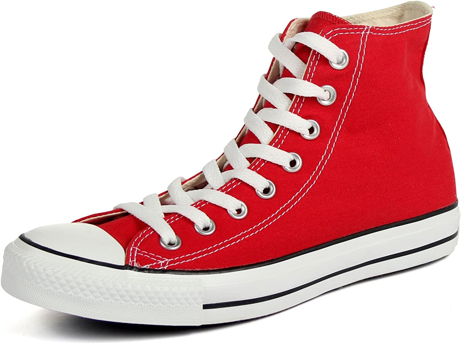 Converse Chuck Taylor All Star High Top Core colors (6.5 D(M) US, Red)
