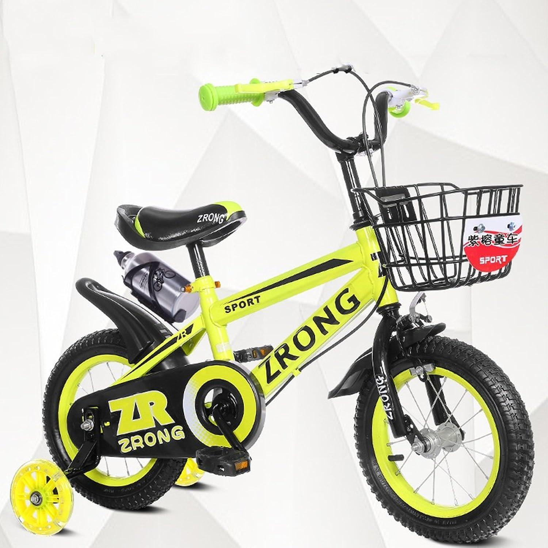 Los mejores precios y los estilos más frescos. Bicicletas YANFEI Niños Niños Niños Azul Rojo Amarillo Tamaños  12 Pulgadas, 14 Pulgadas, 16 Pulgadas, 18 Pulgadas Excursión Al Aire Libre Regalo para Niños  las mejores marcas venden barato