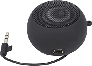 TRIXES Mini Portable Rechargeable Travel Speaker Wired 3.5mm Headphone Jack
