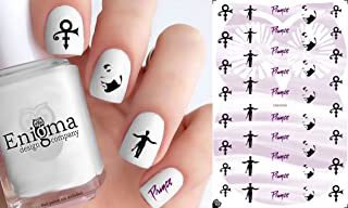 Prince (Clear Water-Slide Nail Decals)
