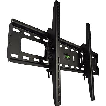 スタープラチナ TVSTIFT100MB テレビ壁掛け金具 37-65インチ対応 TVセッターチルトFT100 Mサイズ ブラック