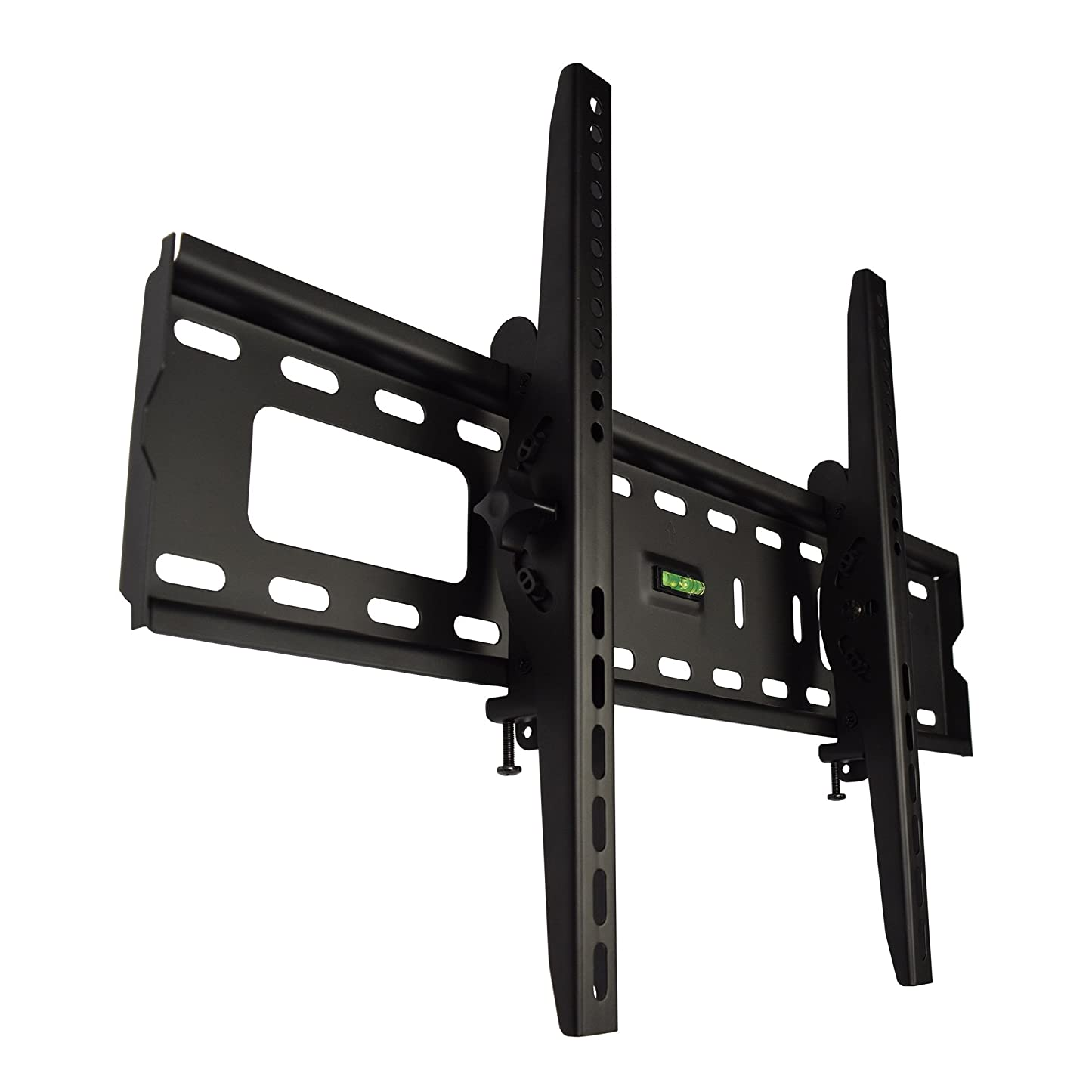 カバー徹底制限テレビ 壁掛け 金具 STARPLATINUM 液晶 TV モニター TVセッターチルト FT100 37-65インチ対応 Mサイズ ブラック