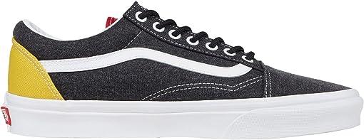 (Vans Coastal) Black/True White