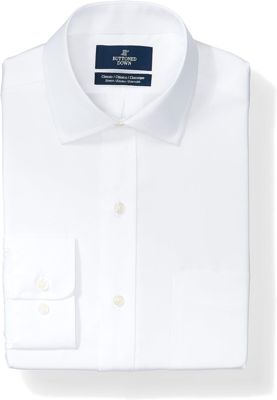 Buttoned Down Men's sale Classic Fit Supi Stretch Shirt Poplin Dress Washington Mall