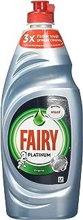 Fairy Platinum Dishwashing Liquid Original 625ML