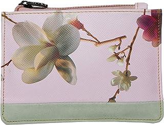 Butterflies Women Wallet (Baby Pink,Light Green) (BNS 2441BPK)