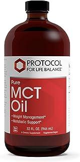 Protocol For Life Balance - Pure MCT Oil - 32 Fl oz (946 mL)