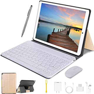 Android Tablet with Keyboard, 2 in 1 Tablet PC 10